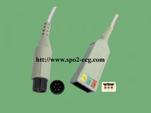 China Medical GE ECG Lead Cable Pro 1000 AA 2 / 6 Pin Multi - Link Plug System on sale