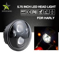 High Low Beam Led Motorcycle Headlight Die Casting Aluminum Housing Material