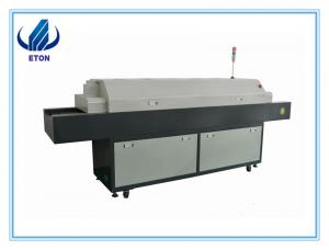 China LED reflow oven 5 heating zone soldering machine for LED assembly line on sale