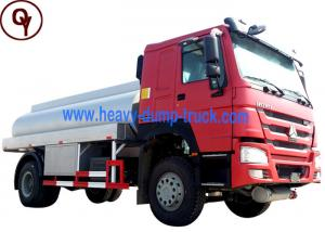 China 4x2 290HP Oil Tanker Truck Manual Transmission on sale