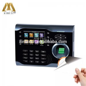 China Biometric Reads fingerprint employee time clock machine iclock360 fingerprint and IC card reader time attendance system on sale