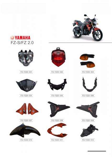 YAMAHA FZ-S FZ2 0 Motorcycle Parts And Accessories ABS Plastic / PC