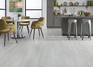 China Embossed PVC Patterned Vinyl Flooring , UV Coating Wood Look Tile Flooring on sale