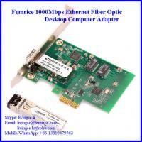 Gigabit Ethernet PCI Express NIC Cards, Single Port GbE (SFP) Network Cards