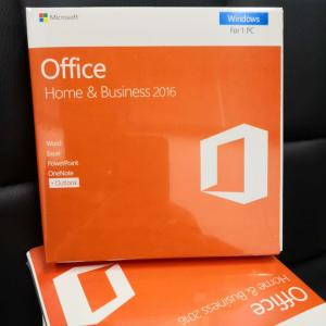 China Hot sale 100% Original Useful Microsoft office 2016 home and business Russian version Retail Box with DVD laptop key on sale