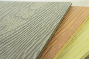 China Professional Fire Resistant Fiber Cement Board And Batten Siding Customized Color on sale