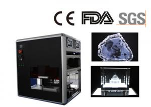 China Small Air Cooling Gift Engraving Machine for Glass and Crystal CE / FDA Certificated on sale