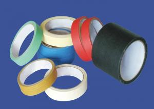 China Rubber Mastic Colored Masking Tape 48mm x 55m Dimension Smooth Tapes on sale