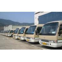 China 2010 Year Used 23 Seater Bus , Japan Toyota LHD Coaster 1HZ Diesel Engine Bus on sale