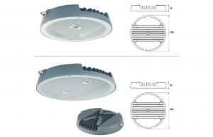 China Die - casting aluminum 80W LED Canopy Light 7800-8500Lm High Lumen Output on sale