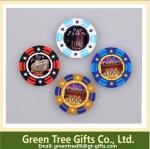 Big Sticker Poker Chips custom design abs pokerchips 11.5g casino pokerchip EPT chip