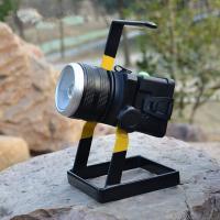 3X18650 Waterproof Portable Sportlight 30W CREE T6 Zoom Outdoor Rechargeable Searching Flashlight