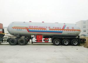 China Tri Axles Tank Semi Trailer For 40000L- 48000L Liquid Ammonia Transport on sale