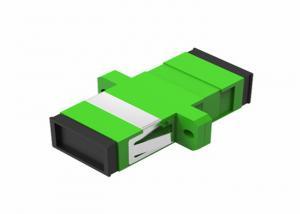 China SC / APC Fiber Optic Adapters Single Mode Simplex Digital Fiber Coupler on sale