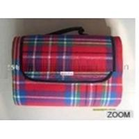 China polyester acrylic picnic blanket  on sale