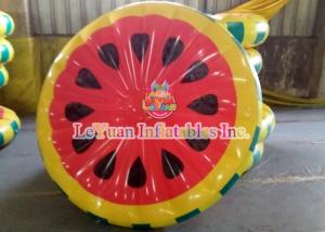 China Cute Watermelon Inflatable Pool Floats Water Toys For Swimming Pool on sale