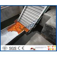 China Fruit Juice Processing Equipment Orange Processing Line 5000kg / Hour ISO9001 CE/SGS on sale