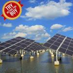 Rust Protection PV Mounting Brackets Fishing-Light Complementary Solar Panel Ground Mounting System For Fish Farm