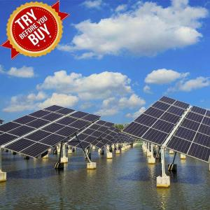China Fishing - Light Complementary Solar Panel Ground Mounting Systems For Fish Farm on sale