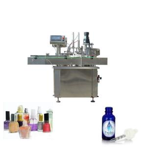 China Two Heads Automatic Pouch Packing Machine For Plastic Bottles 15-40 bottles/min 220V on sale