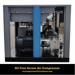 100% Oil Free Silent Screw Air Compressor with Japan Original Air End