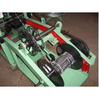 China Straight And Reverse Twist Barbed Wire Machine PVC Coated 60-70 kg/ Hour Capacity on sale