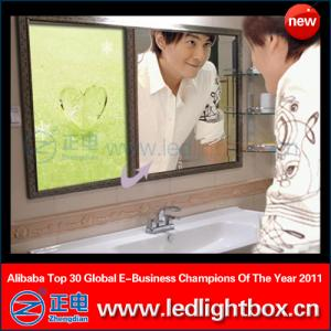 China Magic mirror advertising use led light box on sale