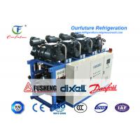 R404a Air Cooled Screw Chiller Tuna Fish -50 Centigrade Cooling