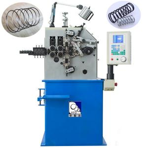 Quality Blue Wire Spring Making Machine 230pcs / Min Fast Speed With 100KG Decoiler for sale