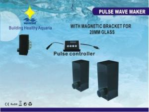China 110 - 240V 17W Aquarium Wave Maker With Feeding Function, Pulse Wave And Magnetic Bracket on sale