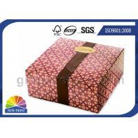 China Cajas de cartón de la caja del acondicionamiento de los alimentos y caja de embalaje impresas del chocolate de lujo on sale