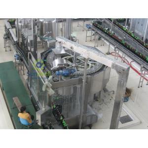 China Rotary Automatic Beer Filling Machine , Multi-Head Volumetric Filling Machine on sale