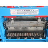 Galvanized Steel Curving Machine / Silo Roll Forming Machine by Gear Box Main Power 110KW