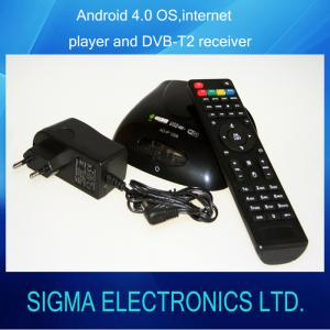China Internet Player with fully DVB-T2/T function Android 4.0 IPTV on sale