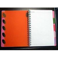 China PP cover wire-o notebook with PP divider_China printing factory on sale