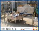 1TPH - máquina del pasteurizador de la leche del estándar de ISO 10TPH para la planta de la pasterización de la leche
