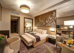 Luxury Modern Wooden Bedroom Sets / OEM 5 Star Hotel Furniture