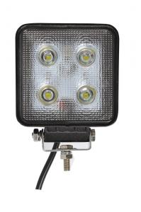 China High quality square cree chips 40W 12v 4.3 Inch 3600lm Auto Led Fog Lamp White Color on sale