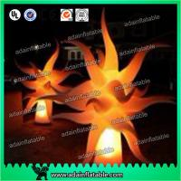 Event Decoration Lighting Inflatable Flame Model,Inflatable Pillar With LED Light