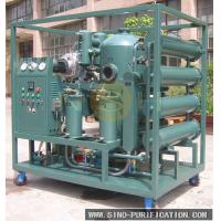Vacuum Insulation Oil Recycling Plant Transformer Oil Purification Machine With Degassing / Dehydration