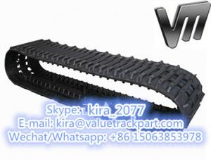 China High Quality BV206 Rubber Track for HAGGLUND VEHICLE Loader made in China on sale