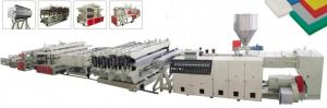 China WPC / PVC Foam Board Making Machine 380V Input Voltage ISO Approval on sale