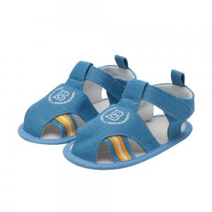 China Summer 2019 hot Canvas shoes soft-sole 0-2 years  boy cool toddler sandals baby boy on sale