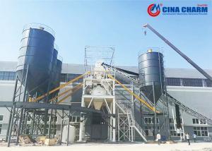 China Shaft Planetary Precast Concrete Plant , 120m3 / H Concrete Batch Mix Plant on sale