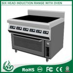 Free standing Electric Range with 6 Burner