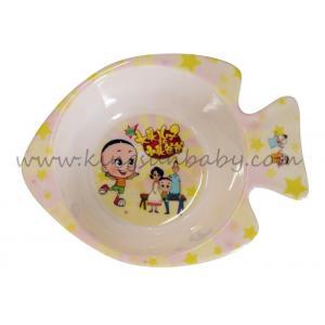 China Fish Design Melamine Plastic Bowl For Baby Non-toxic Dinnerware Eco - Friendly on sale