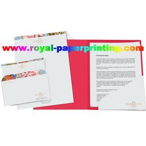 China A4 colorful paper file folder /presentation file folder printing on sale