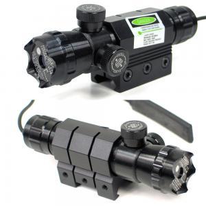 China Dot Spot Tactical Flashlight Laser / Tactical Green Laser Flashlight Combo on sale