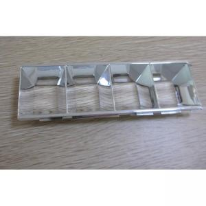 China Single Shot Injection Moulding Services For Chrome Plated Gloss Finish ABS Light Guide on sale