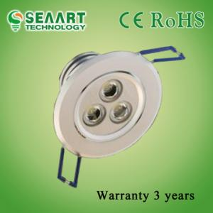 China Near IR Radiation AC90-260V 3W Dimmable LED Downlight For Shops Lighting on sale